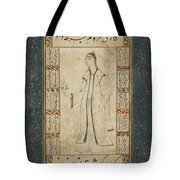 A Young Woman With A Rose Attributed Tote Bag