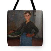 A Zandvoort Fishergirl Tote Bag