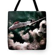 A10 Thunderbolt In Flight Tote Bag