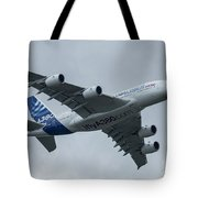 A380 Airbus In Flight Tote Bag
