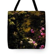Aagaard Carl Frederick The Rose Garden Tote Bag