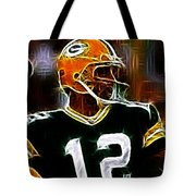 Aaron Rodgers - Green Bay Packers Tote Bag