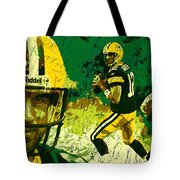 Aaron Rodgers 2015 Tote Bag