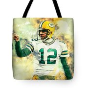 Aaron Rodgers Tote Bag