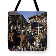 Abalone Shell House Tote Bag