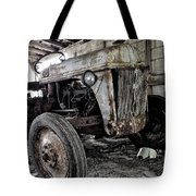 Abanded Tractor 3 Tote Bag