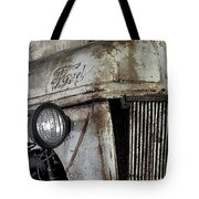 Abanded Tractor 4 Tote Bag