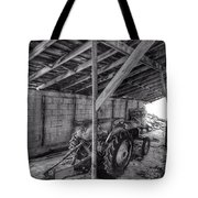 Abanded Tractor 5 Tote Bag
