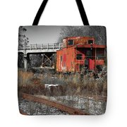 Abandon Caboose Tote Bag