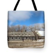 Abandoned Barn And Shed Tote Bag