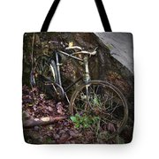 Abandoned Bicycle Tote Bag