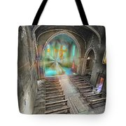 Abandoned Blue Church II - Chiesa Blu Abbandonata II Tote Bag by Enrico Pelos