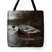 Abandoned Boat Tote Bag