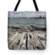 Abandoned Boat Slip Tote Bag