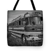 Abandoned Bus Tote Bag