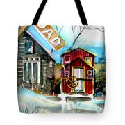 Abandoned Caboose Tote Bag