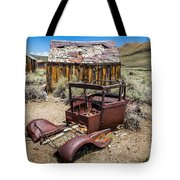 Abandoned Cars, Bodie Ghost Town Tote Bag
