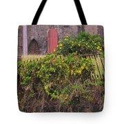 Abandoned Churchyard Tote Bag