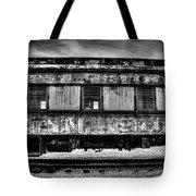 Abandoned Circus Transport Car Tote Bag