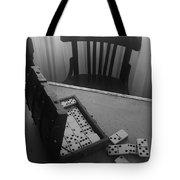 Abandoned Domino Set Tote Bag