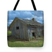 Abandoned Farm Building Tote Bag