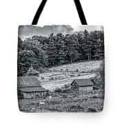 Abandoned Farm Buildings Tote Bag