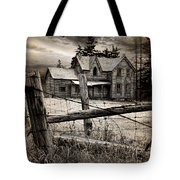 Abandoned Farm House Tote Bag