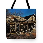 Abandoned Farmhouse In Kansas Tote Bag