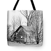 Abandoned Farmhouse In The Michigan Countryside Tote Bag