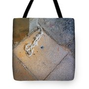 Abandoned Fishing Knot Tote Bag