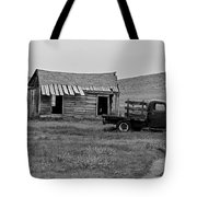 Abandoned Ford Truck And Shed Tote Bag