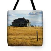 Abandoned Homestead Saskatchewan Tote Bag