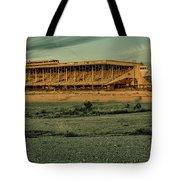 Abandoned Horse Track Tote Bag