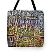 Abandoned House-don Robinson State Park-enhanced Tote Bag
