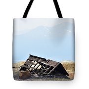 Abandoned In A Sea Of Mining Tailings Tote Bag