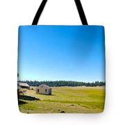Abandoned In Meadow Tote Bag