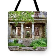 Abandoned In Mostar Tote Bag