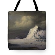 Abandoned In The Arctic Ice Fields Tote Bag