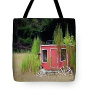 Abandoned In The Field Tote Bag