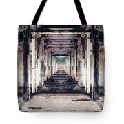 Abandoned Industrial Building Tote Bag