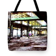 Abandoned Industry Tote Bag