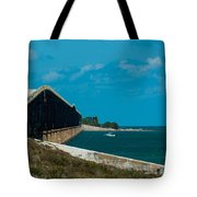 Abandoned Keys Bridge Tote Bag