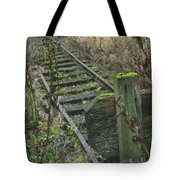 Abandoned Miniature Railway Tote Bag