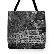 Abandoned Minorcan Country Gate Tote Bag