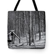 Abandoned New England Sugarhouse Tote Bag