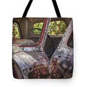 Abandoned Old Truck Newport New Hampshire Tote Bag