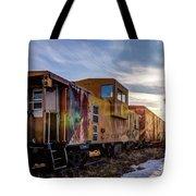 Abandoned Railcar Tote Bag