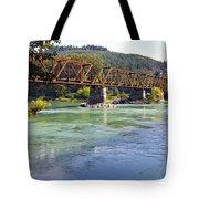 Abandoned Railroad Bridge Tote Bag