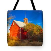 Abandoned Red Barn Tote Bag