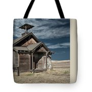 Hilltop Schoolhouse Tote Bag